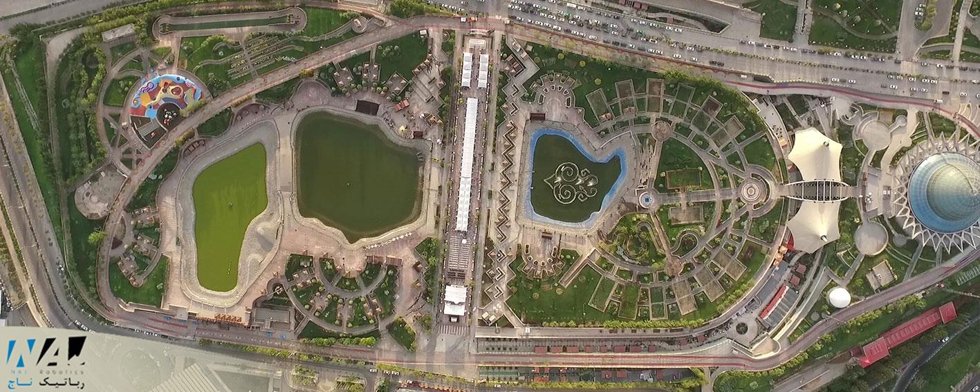 تصویر برداری هوایی - رباتیک ناج