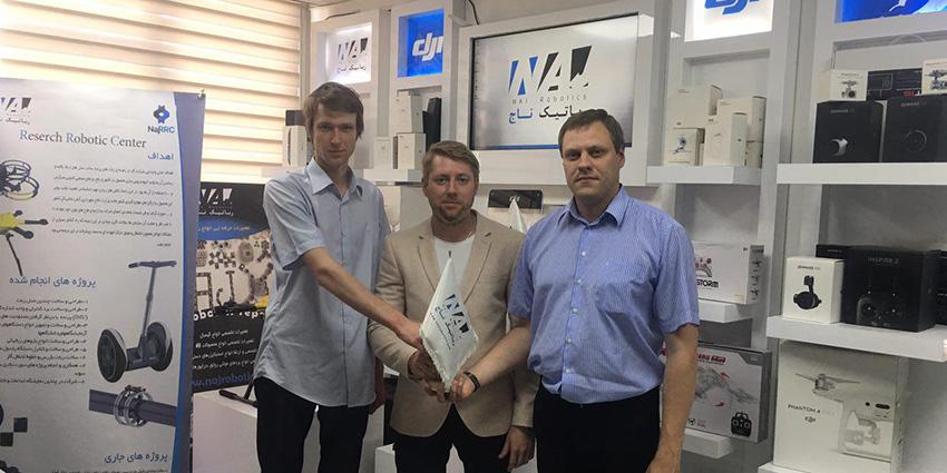 میهمانان روسی در رباتیک ناج